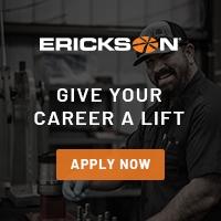 Erickson Now Hiring